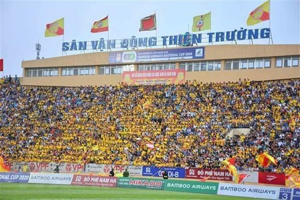 越南成为东南亚地区重新启动各场足球比赛的首个国家 hinh anh 1