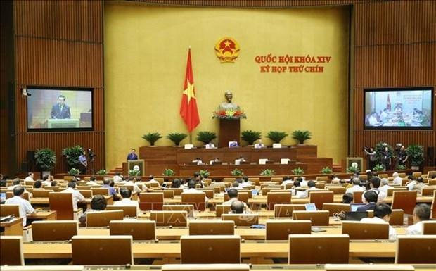 越南第十四届国会第九次会议公报(第七号) hinh anh 1
