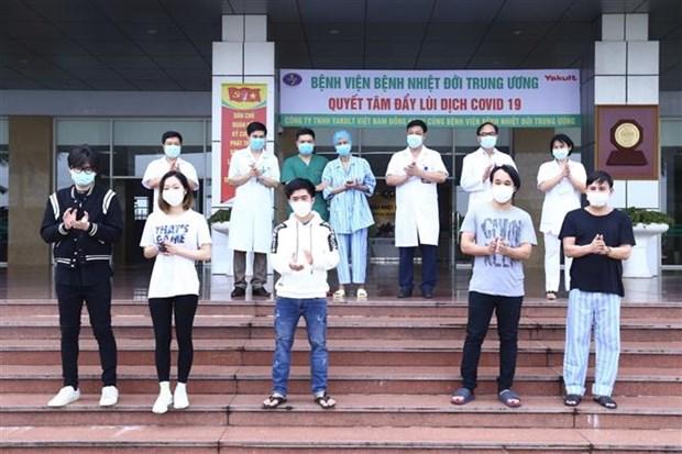 越南新增6例确诊患者治愈 hinh anh 1