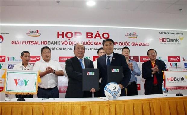 2020年HDBank国家室内五人制足球锦标赛将于6月1日启动 hinh anh 2