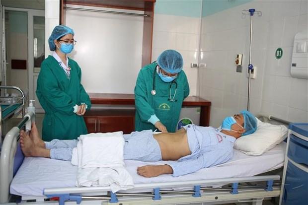 清化省成功进行首例跨血型肾移植手术 hinh anh 1