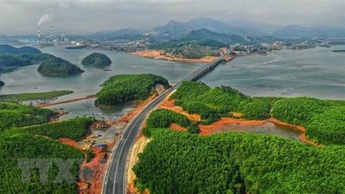 政府总理批准将广宁省广安经济区补充至越南沿海经济区规划中 hinh anh 1