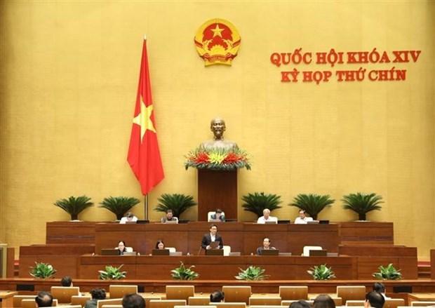 越南第十四届国会第九次会议公报(第八号) hinh anh 1