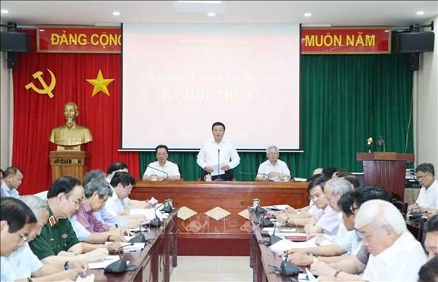越共中央理论委员会第13次会议在河内召开 hinh anh 1
