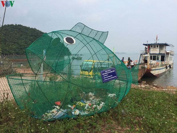 广宁省独特又有趣反塑料垃圾模式 hinh anh 2