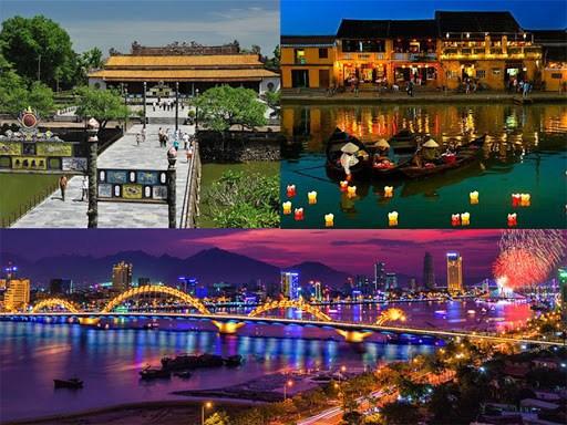 越南中部三个省市联手推动旅游业发展 hinh anh 1