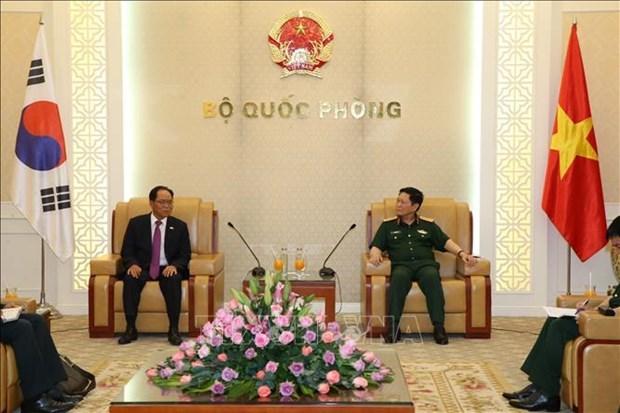 越韩两国努力深化防务合作 hinh anh 1