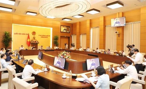 越南国会常委会第四十五次会议落幕 hinh anh 2