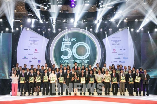 越南天然气股份总公司再次列入越南最佳上市公司50强名单 hinh anh 1