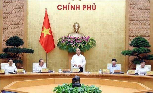 阮春福总理:致力于经济复苏 达到2020年最高目标 hinh anh 1