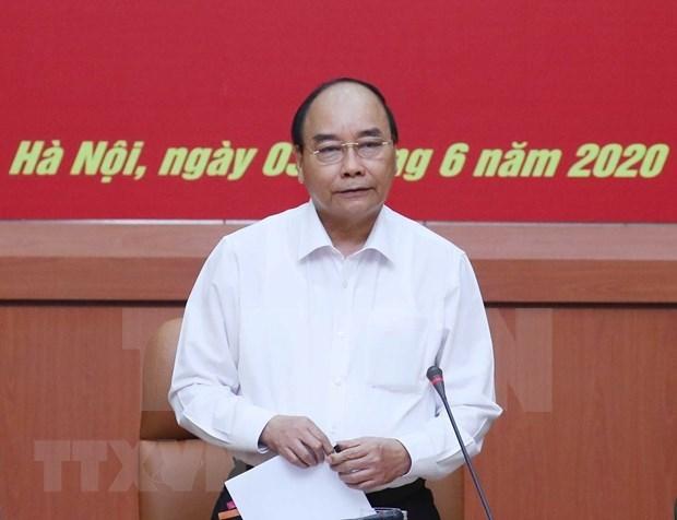 政府常务委员会就越老合作计划项目召开会议 hinh anh 1