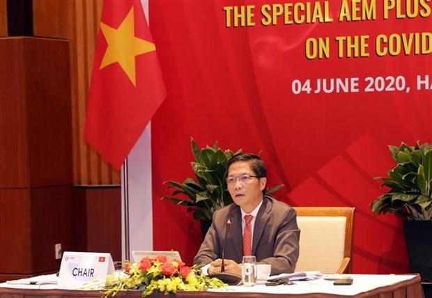 ASEAN 2020:各国经济部长一致同意不设置任何新技术壁垒 hinh anh 2
