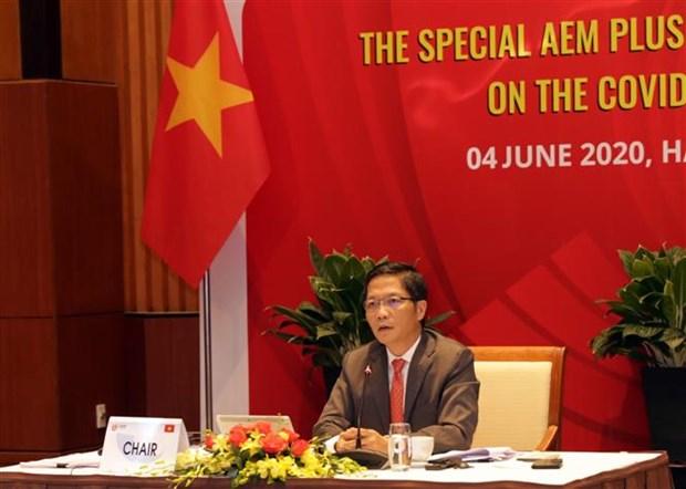 东盟与中日韩经济部长会议通过联合宣言 hinh anh 2