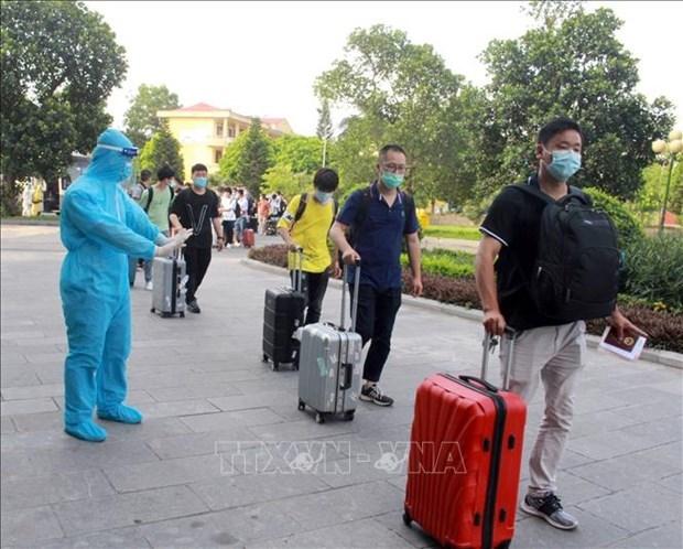 越南新增一例新冠肺炎确诊病例 hinh anh 1