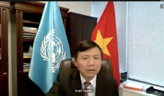 越南呼吁各国团结协作共同应对恐怖主义威胁 hinh anh 2