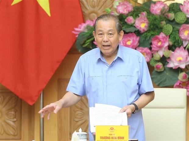 政府副总理张和平:坚决使无法重组的项目破产 减少对国家的损失 hinh anh 2