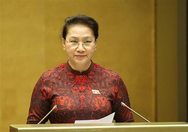 越南第十四届国会第九次会议:对有关批准EVFTA的决议进行表决 hinh anh 2