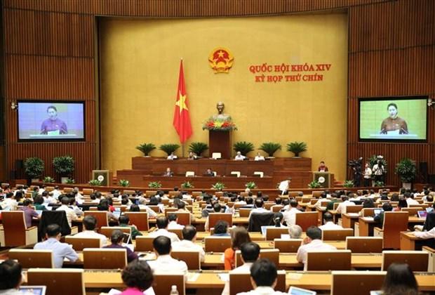 越南第十四届国会第九次会议:对有关批准EVFTA的决议进行表决 hinh anh 1