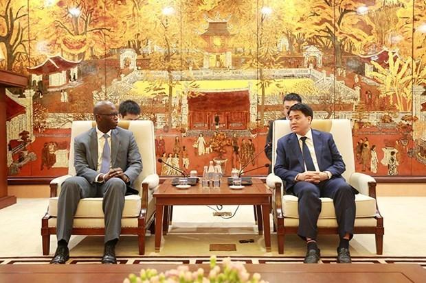 世行驻越首席代表对河内市成功控制疫情表示印象深刻 hinh anh 1
