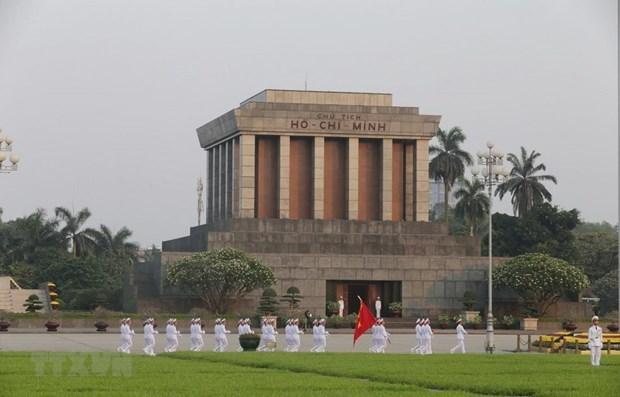 胡志明主席陵6月15日至8月14日暂停开放接待游客 hinh anh 1