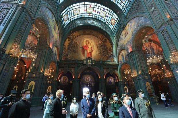 俄罗斯将曾参加卫国战争的7名越南战士档案资料录入博物馆数据库 hinh anh 2