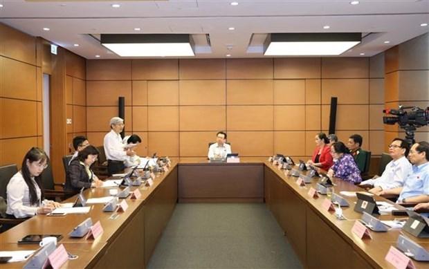 第十四届国会第九次会议:建议完成向近8000万公民发放公民身份号码的计划 hinh anh 1