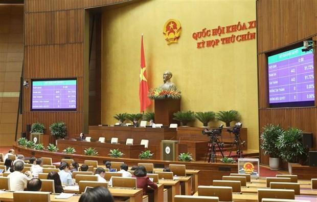 越南国会主席阮氏金银当选国家选举委员会主席 hinh anh 1