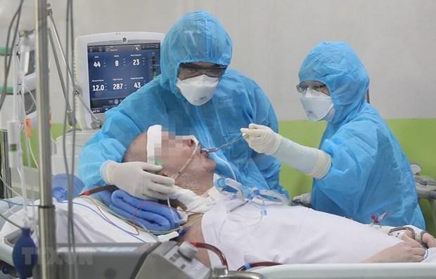 在11名患者中有5名检测结果呈阴性反应 英国籍飞行员康复良好 hinh anh 2