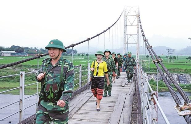 乂安省西部的军民之情 hinh anh 5