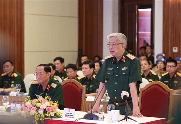 加强越南维和力量的防疫能力 hinh anh 1