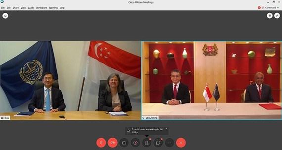 新加坡是全球首个与国际海洋法法庭签署示范协定的国家 hinh anh 1