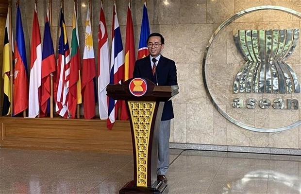 2020东盟轮值主席年:韩国协助东盟提升新冠肺炎疫情早期发现能力 hinh anh 2