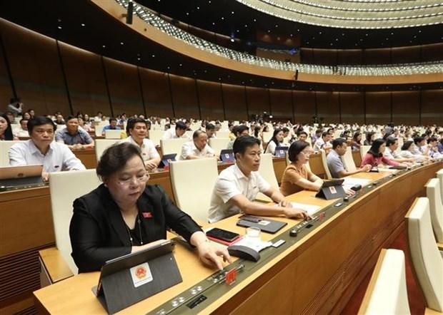 国会表决通过四部法律并对两部法律草案提出意见 hinh anh 2