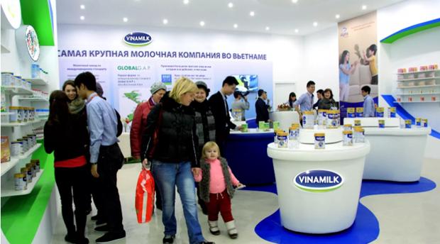 越南首家乳制品公司打入亚欧经济联盟市场 hinh anh 1