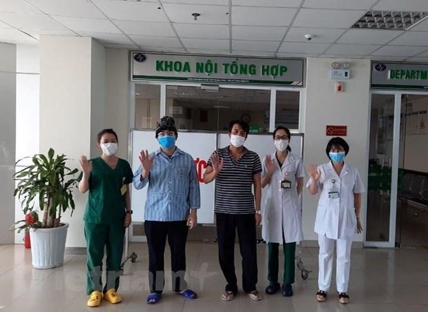 新冠肺炎疫情:乌克兰和俄罗斯制药公司向越南中央热带医院捐赠药物 hinh anh 1