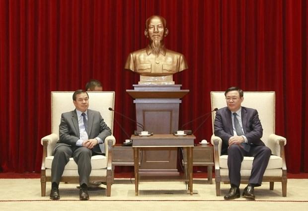 河内尽力巩固越南与老挝特殊友好关系 hinh anh 1