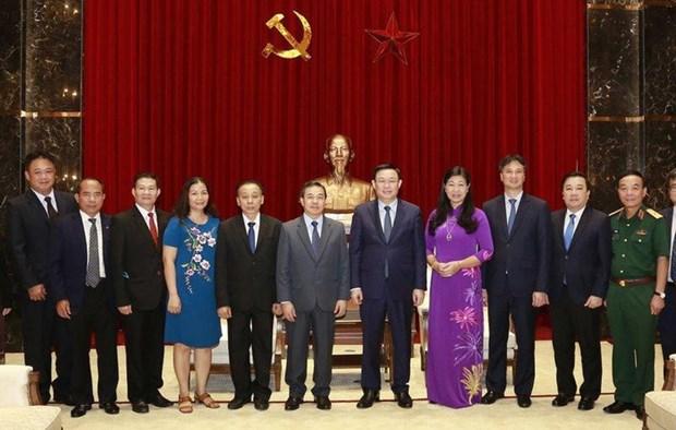 河内尽力巩固越南与老挝特殊友好关系 hinh anh 2