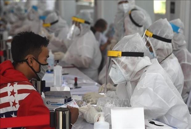 新冠肺炎疫情:印尼18日新冠肺炎新增确诊病例1331例 创单日增长新高 hinh anh 1