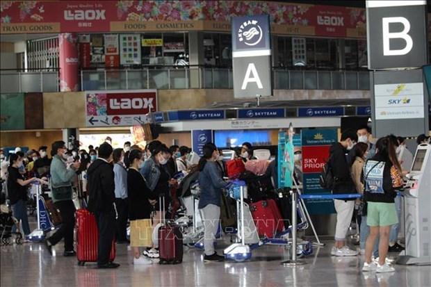 日本将放宽与越南等国的往来限制 hinh anh 1
