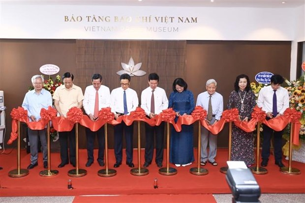 越南新闻博物馆开馆仪式在河内举行 hinh anh 1