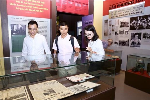 越南新闻博物馆开馆仪式在河内举行 hinh anh 3