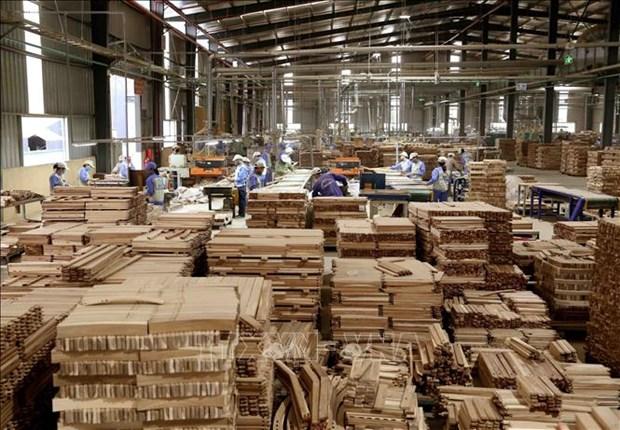 2020年前6个月越南木材和林产品出口额同比增长3.9% hinh anh 1