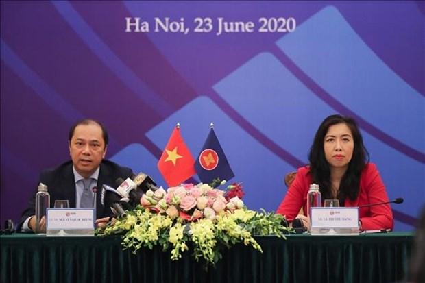 2020东盟轮值主席年:第36届东盟峰会集中实现双重任务 hinh anh 1