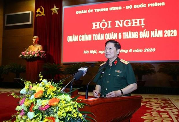 越南政府总理阮春福出席2020年上半年全军军政会议 hinh anh 2