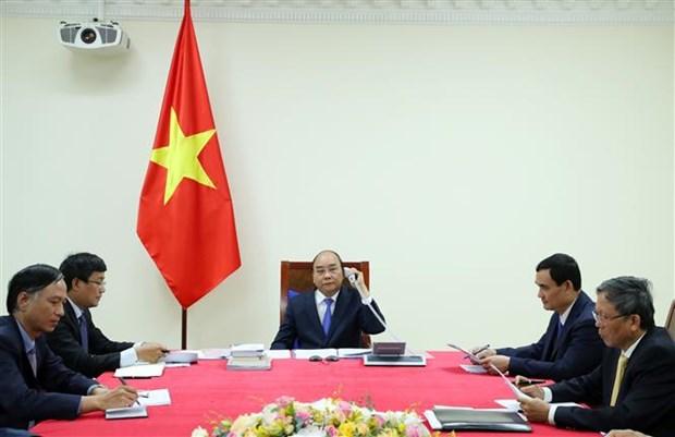 越南政府总理阮春福与马来西亚总理慕尤丁通电话 hinh anh 2