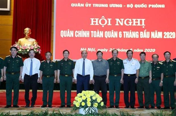 越南政府总理阮春福出席2020年上半年全军军政会议 hinh anh 1