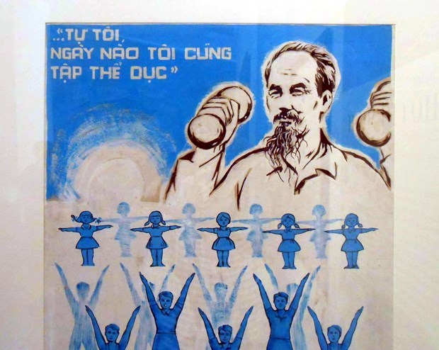 俄罗斯专家:宣传海报——协助越南抗击疫情的有力武器 hinh anh 1