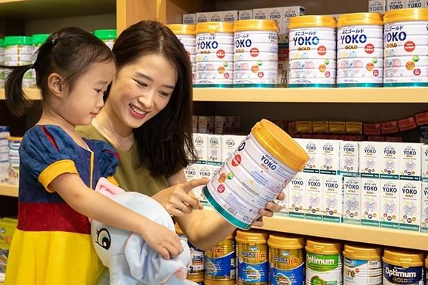 Vinamilk连续八年为越南消费者选购最多的品牌 hinh anh 1