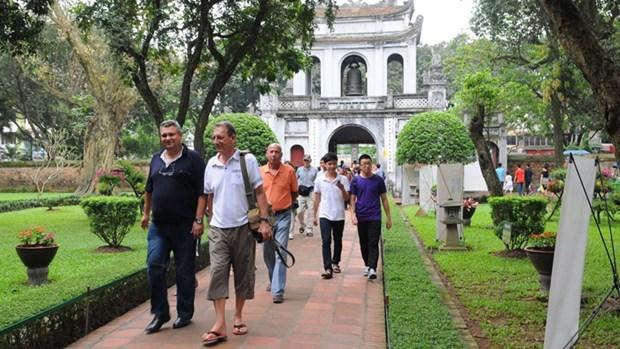 越南旅游:河内市力争2020年下半年接待国内游客达1100万人次 hinh anh 1