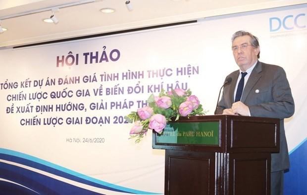 越南积极评估气候变化国家战略及行动计划的落实情况 hinh anh 2